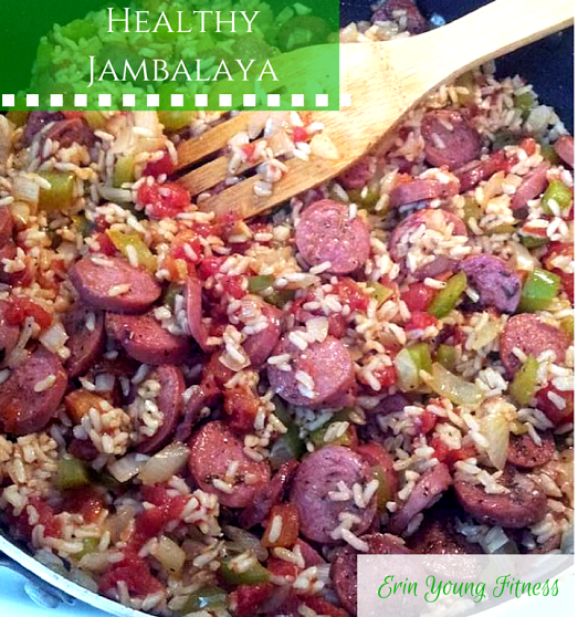 Clean healthy jambalaya recipe erin young fitness there is nothing better than this clean healthy jambalaya recipe yummy its ssooo good super easy quick and a family favorite forumfinder Choice Image