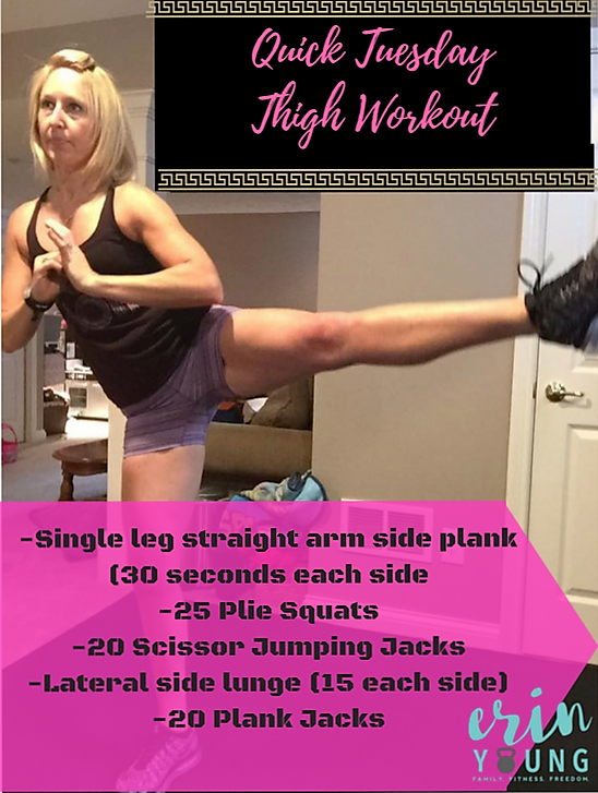 Quick Thigh Workout Routine