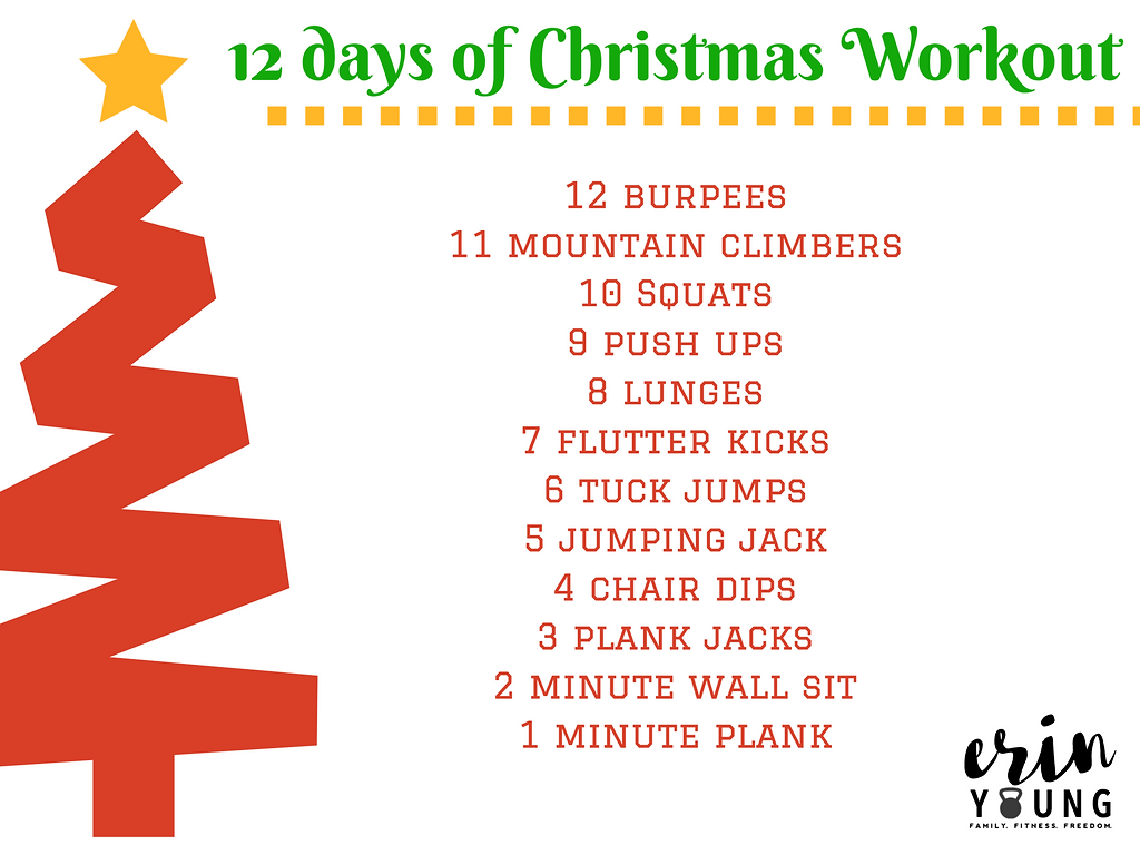 Quick Christmas Workout