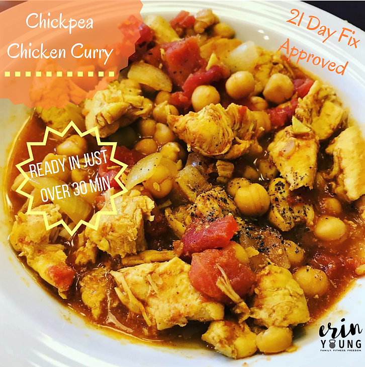 Chicken Curry with Chickpeas Recipe