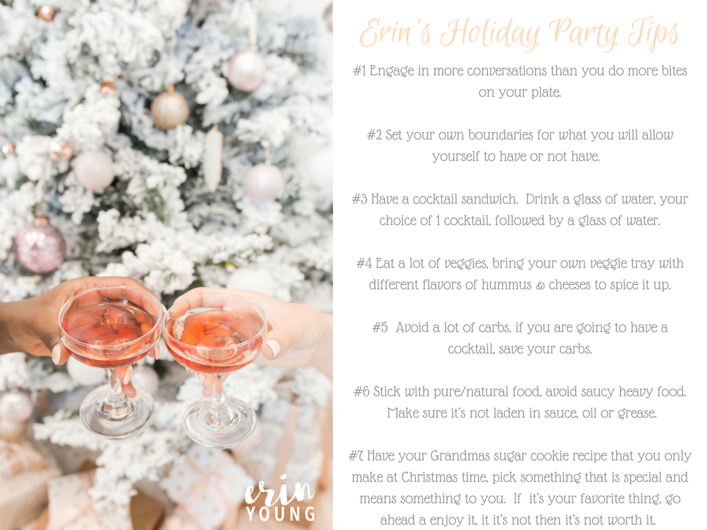 Healthy Holiday Party Tips